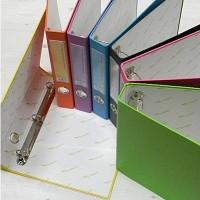 철 장식으로 더욱 새로워진 7색상의 New eco binder-청운그린화일 A4-3Cm 에코 3공 D링 합지 바인더 HB131