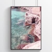 시칠리아의 바다 사진포스터