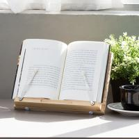 원목 소나무독서대 대나무 책받침대 북스탠드