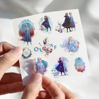 디즈니 겨울왕국 2_홀로그램 스티커