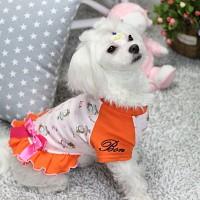허니 드레스(오렌지)_강아지옷