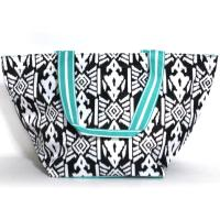 [ALL FOR COLOR]LARGE TOTE - AZTEC IKAT