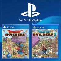 PS4 드래곤 퀘스트 빌더즈 1 + 2 한글판 (더블팩)