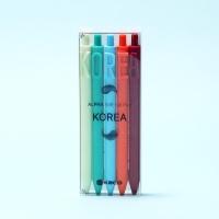카코 KACO KOREA 에디션 젤펜 5종 세트