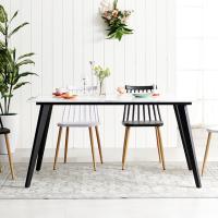 블랙 인더밴 1200 대리석식탁 테이블