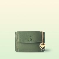 [이니셜 커스텀] Big pocket point wallet _ Khaki