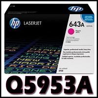 HP 정품 Q5953A (643A) Q5953 5953A 5953 CLJ 4700
