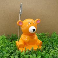 몽글몽글 볼펜&메모홀더 - 곰