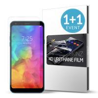 스킨즈 LG Q7플러스 우레탄 풀커버 액정 필름 (2장)