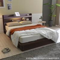 [보루네오 하우스] 아르메 엘피노 LED 평상형 침대 SS_매트별도