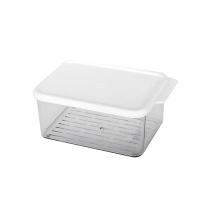 시스템 냉장고정리 보관용기 2호 600ml [K002]