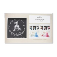 홀마크 베이비 기프트 PICS 'N' PROPS_My First Year Celebration Kit_첫돌까지 성장단계 촬영 키트 - BBA4535