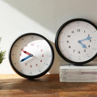[N365] 250파이 어린이 시간공부 무소음 벽시계