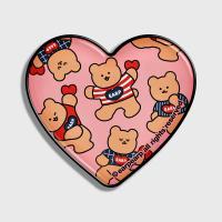 Dot dancing bear-pink(hearttoktok)