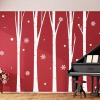ph442-크리스마스자작나무숲(대형)_그래픽스티커