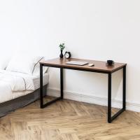 [채우리] 쿠드 1200 블랙 철제 책상/테이블