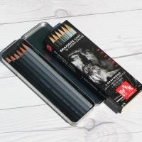 까렌다쉬 연필그라프우드메탈박스 6종Set 775.306
