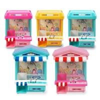 해피플레이 미니 인형 사탕 뽑기 기계 장난감