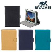 10.1형 태블릿 케이스 RIVACASE 3017 (아이패드 에어2 & 갤럭시탭4 10.1 & 갤럭시탭 프로 & 갤럭시탭S 10.5 / 에이서 & 아수스 & 레노버 등 호환 / 거치대 / 고정 클립)