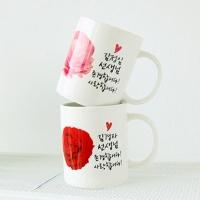[♥로즈머그♥] 머그컵