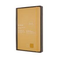 몰스킨 [19클래식 레더 노트]룰드/옐로우 하드 L