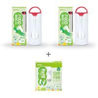 [가마스] 비닐롤백 세트(본품2+리필1) - 푸드백