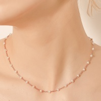 i_n3 - pearl rose gold necklace