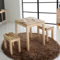 [다니엘우드] 원목 2인 식탁 테이블 600×600