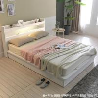 [보루네오 하우스] 아르메 엘피노 LED 평상형 침대 SS_밸런스 독립매트