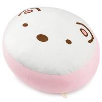 스미코구라시 모찌 민무늬 쿠션-시로쿠마(35cm)