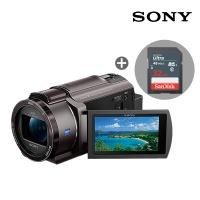 [정품e] 소니 4K지원 FDR-AX40 캠코더 + 32GB 패키지