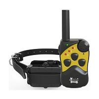 QPETS 애견 무선훈련기세트, 진동+전기충격+초음파소리 3가지모드 반려견 훈련을위한 스마트한 선택,강아지 짖음방지기