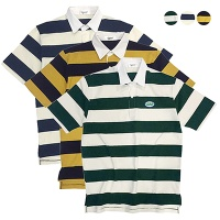 GBB Club  Striped Polo Shirt (3color)