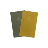 20 HALF DIARY set _ green olive (날짜형)