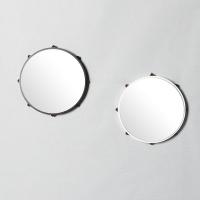 우드 모던 선스타 인테리어 벽장식 거울 300