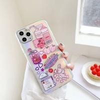 아이폰11 PRO X SE2 8 MAX XR 홀로그램 휴대폰 케이스