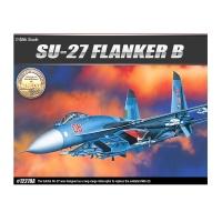 수호이 SU-27 플랭커B 전투기 프라모델 아카데미과학
