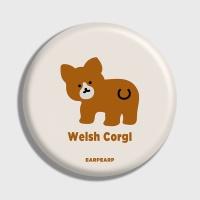 [어프어프] 손거울 Baby Welsh corgl-Ivory