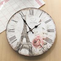 [레트로하우스]빈티지 에펠탑 벽시계_50532
