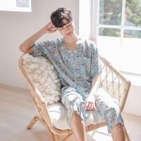 [쿠비카]귀여운 스토리 프린팅 7부팬츠 남성잠옷 M089