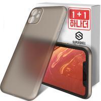 슈퍼쉘 아이폰11 케이스 에어슬림 1+1