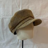 Wool Check Boy Cap