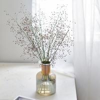 잎안개 생화 꽃 그린 인테리어 식물 소품