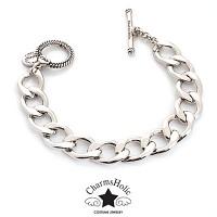 [참스홀릭] luxury rhodium bracelet ckb 104 참 전용 팔찌