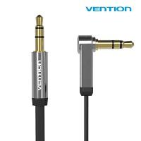 벤션 VENTION NEW AUX 케이블 블랙 / 99.99% 무산소 TPE 칼국수형 3.5mm 옥스 음악 오디오 케이블 I+L자형