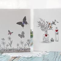 스케치 꽃 세트 FT1037 (6종 한세트)