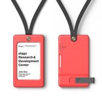 엘라고 ID1 사원증/학생증 카드홀더 (USB 메모리별도)