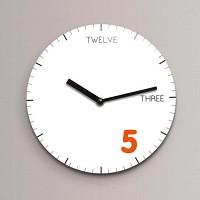 Reflex 무소음벽시계(소) ND192-WH