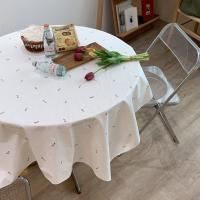 에블린 린넨 튤리비아 방수 식탁보 2인정사각
