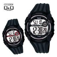 시티즌QnQ MAN-BLACK M118J 시리즈 스포츠 디지털시계